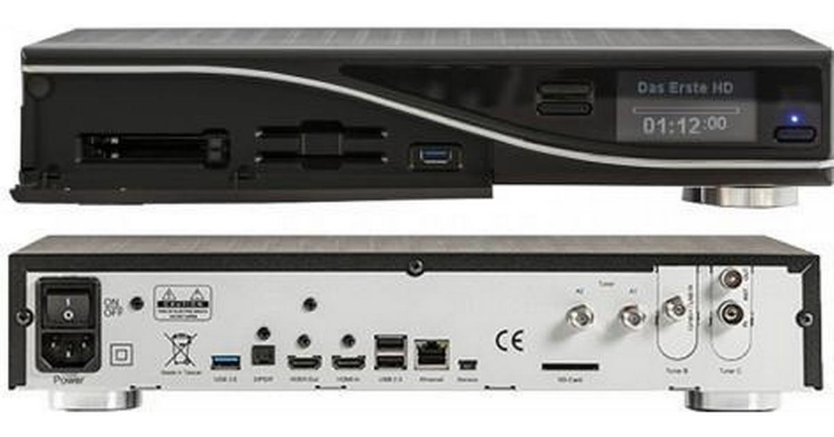 Dream multimedia Dreambox DM7080 HD DVB-S2 - Hitta bästa pris, recensioner  och produktinformation på PriceRunner Sverige