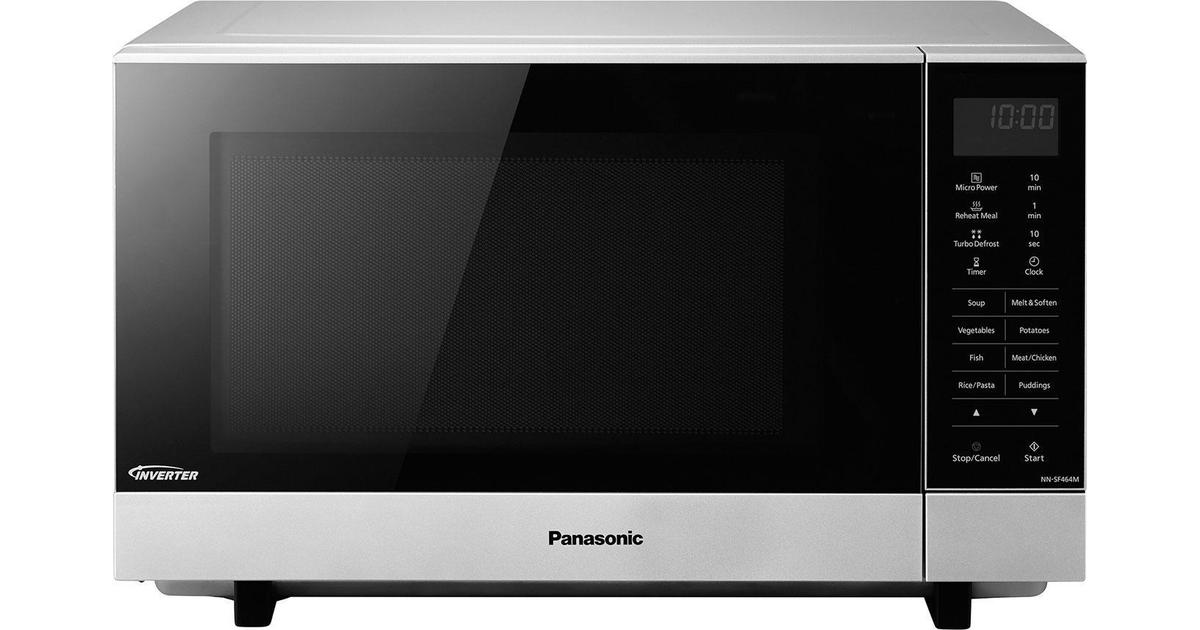 Panasonic Nn Sf464mbpq Silver Compare Prices