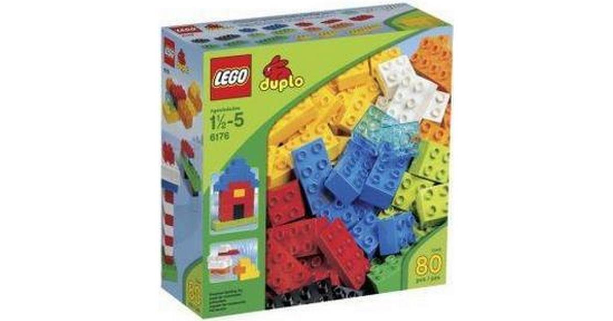 Lego Duplo Basic Bricks Deluxe 6176 Sammenlign Priser Hos Pricerunner