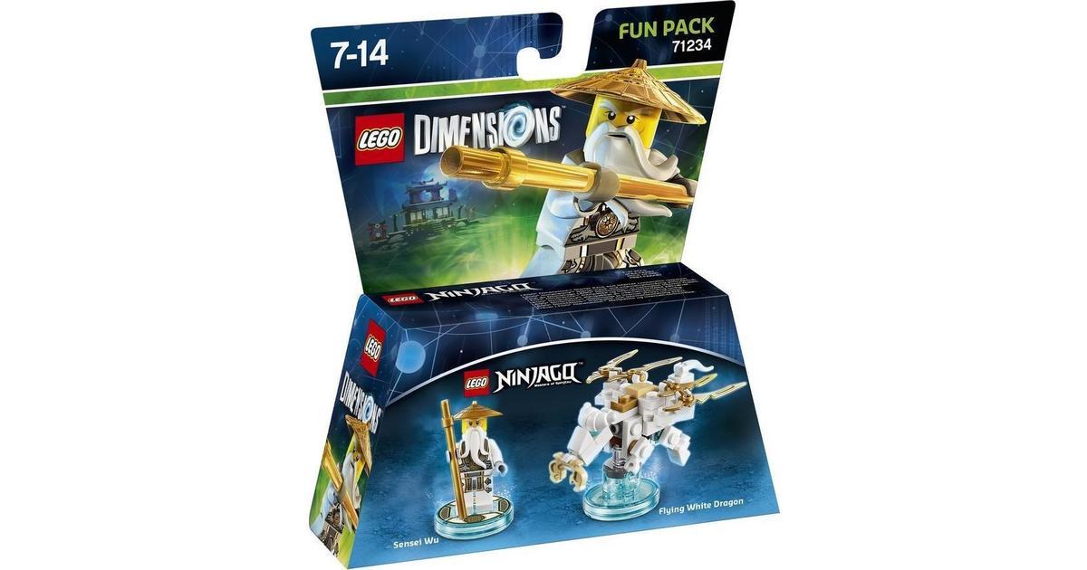 Lego Dimensions Sensei Wu 71234 - Sammenlign priser hos PriceRunner
