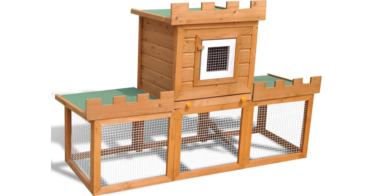 vidaXL 170173 Outdoor Rabbits Cage - Sammenlign priser hos PriceRunner