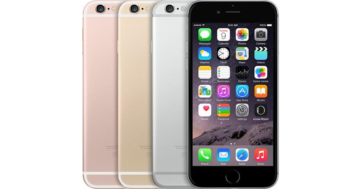 Apple iPhone 6S Plus 64GB utan abonnemang - Hitta bästa pris och  recensioner - PriceRunner a729a2328ccbd