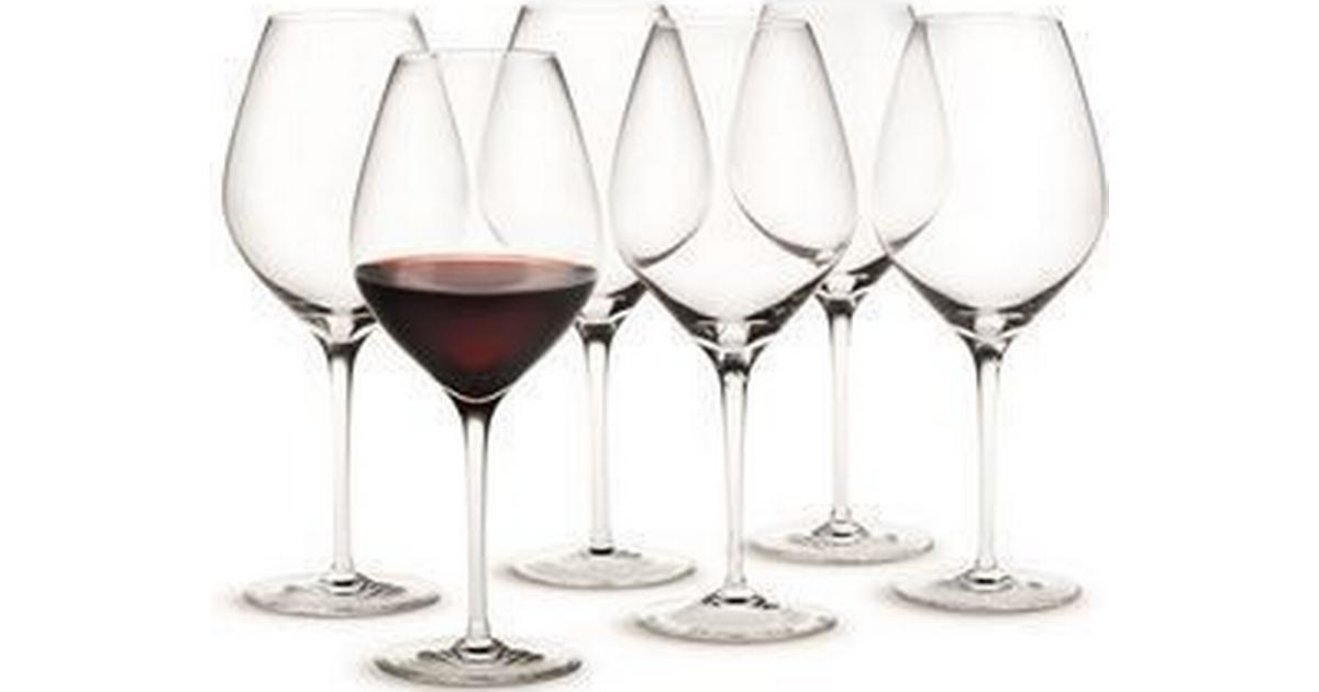 Seriøst Holmegaard Cabernet Rødvinsglas 69 cl 6 stk - Sammenlign priser JN19