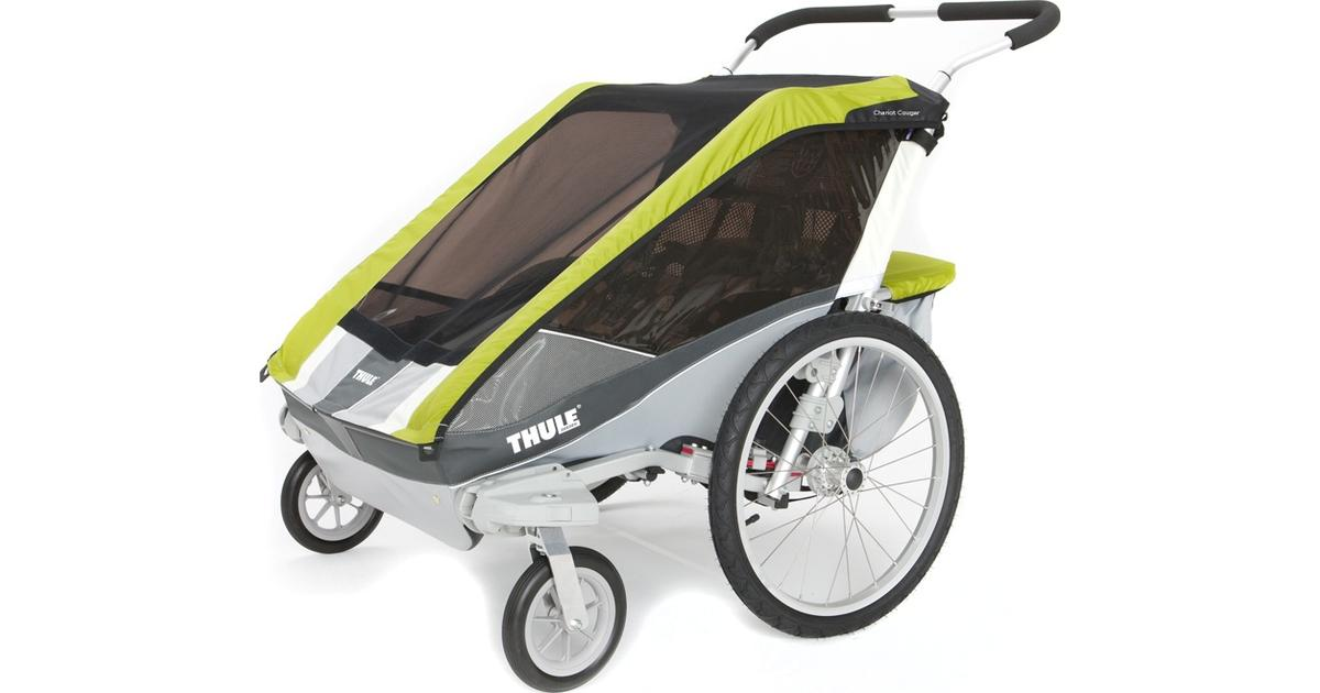 thule chariot cougar 2 joggingvagn hitta b sta pris och. Black Bedroom Furniture Sets. Home Design Ideas