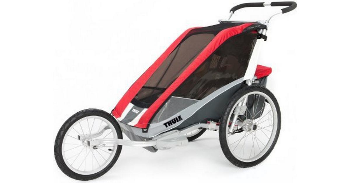 thule chariot cougar 1 sammenlign priser hos pricerunner. Black Bedroom Furniture Sets. Home Design Ideas