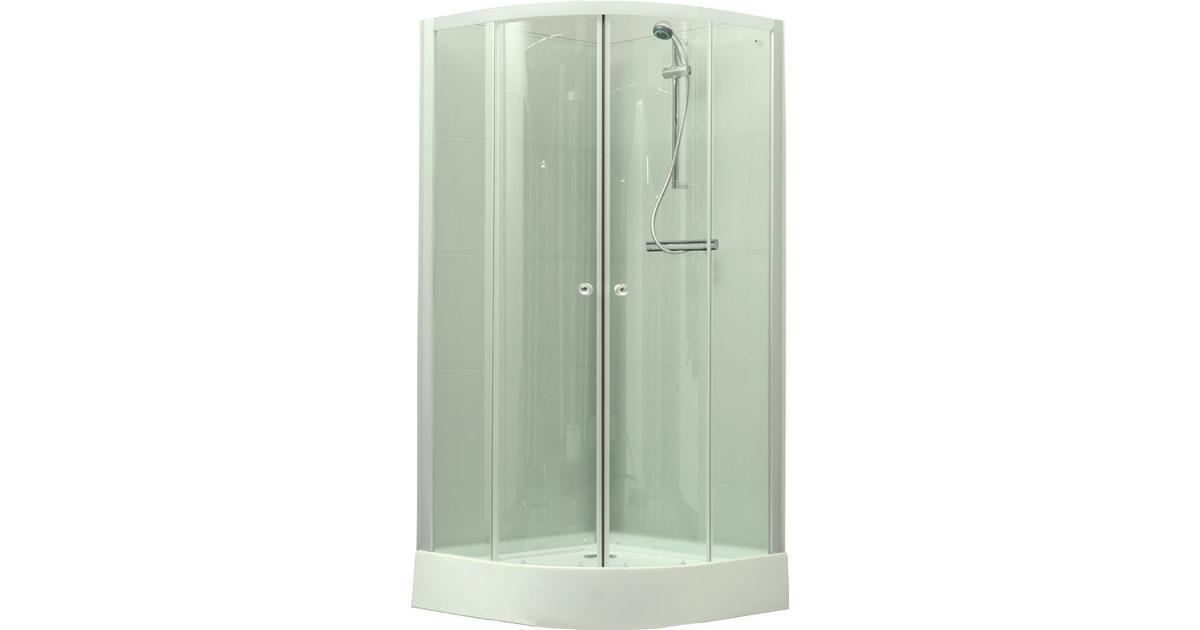 Bath Deluxe Denver (3345945K) Duschkabin 900x900mm - Hitta bästa pris 7e62e3d92763b