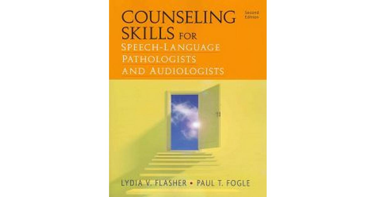 counseling skills for speechlanguage pathologists and audiologists