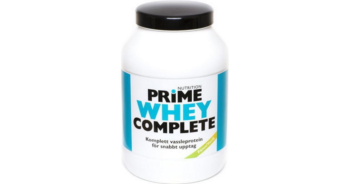 whey proteinpulver vanilj