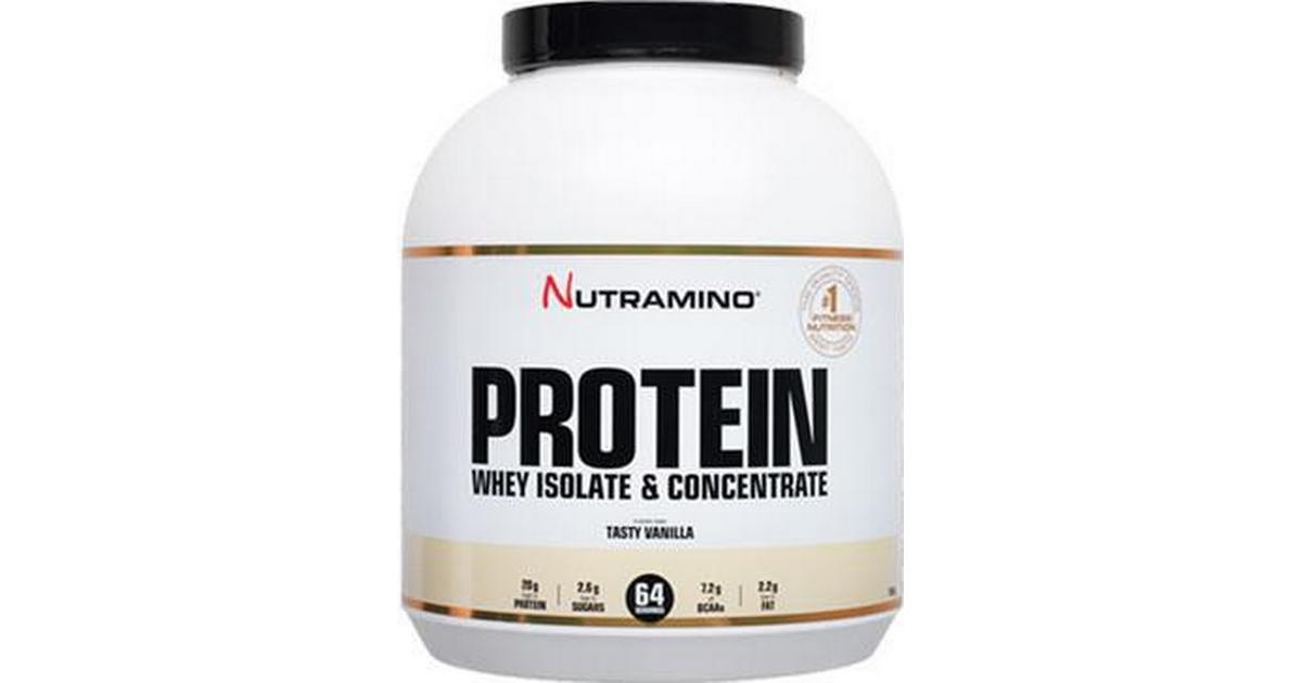 Nutramino Protein Powder Tasty Vanilje 1.8kg - Sammenlign priser hos PriceRunner