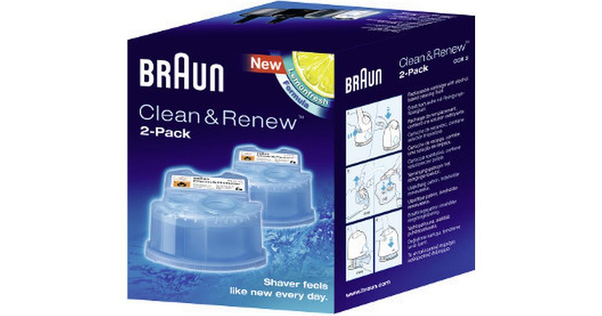 Braun Clean  Renew CCR2 2-pack - Hitta bästa pris b1705d3298b4f