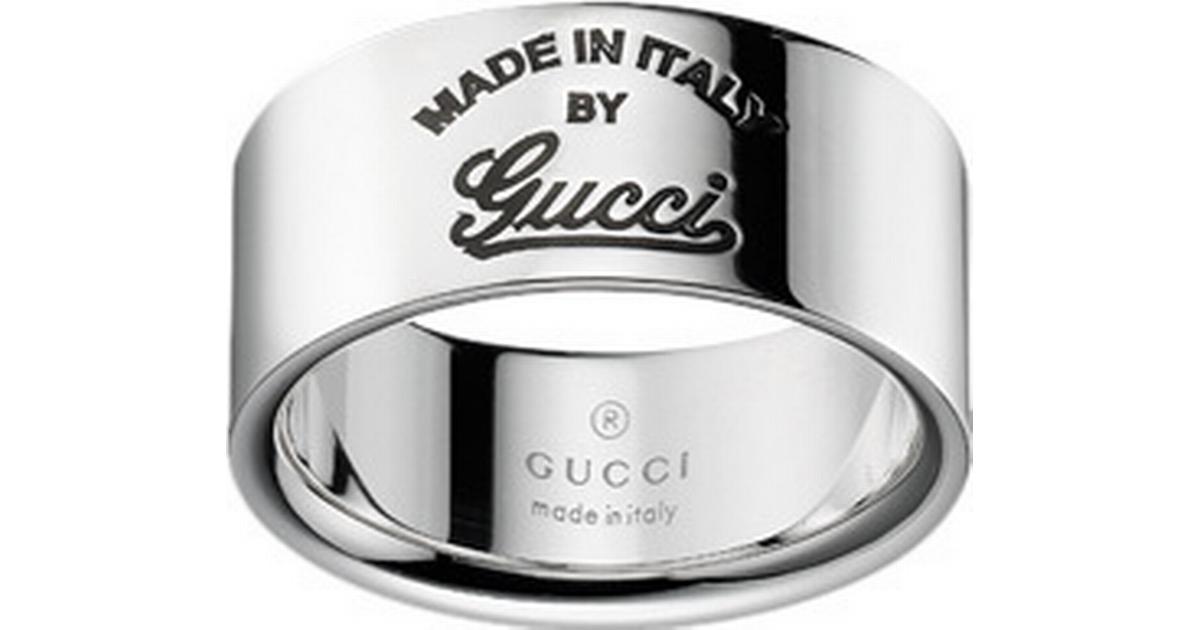 Gucci Gucci Craft Ring Silver - Large - Hitta bästa pris ... ada841e3b9e3b