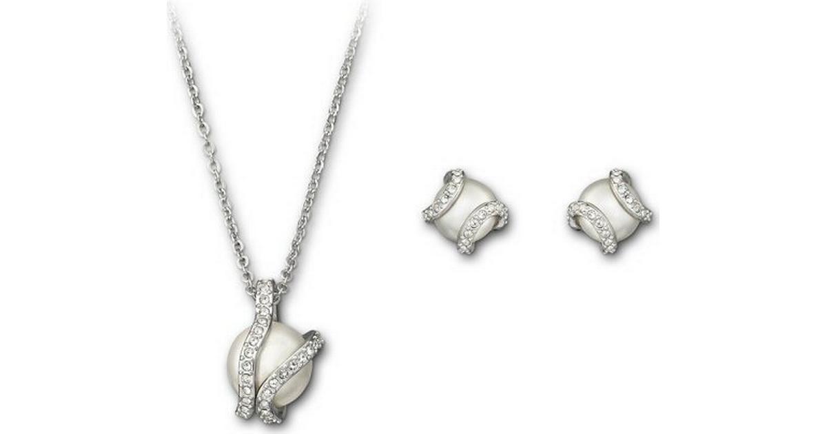 Swarovski Nude Set - Halsband   Örhängen - Hitta bästa pris ... 53f0c9f9fa66f