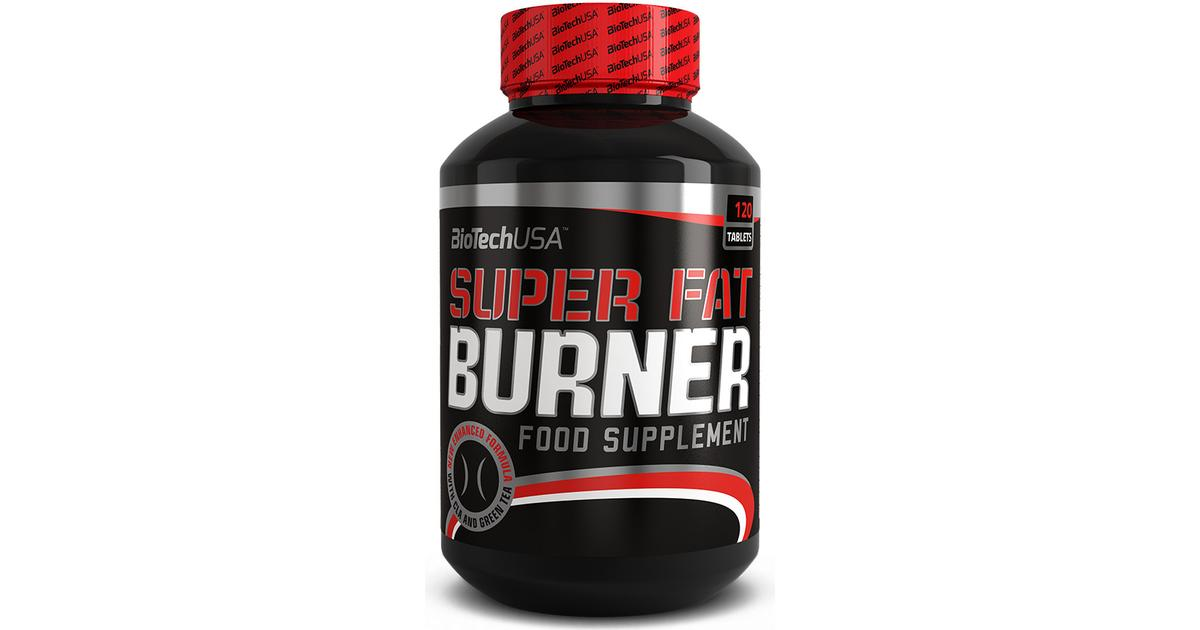 ed0129c37e4 Biotech USA Super Fat Burner 120 stk - Sammenlign priser hos PriceRunner