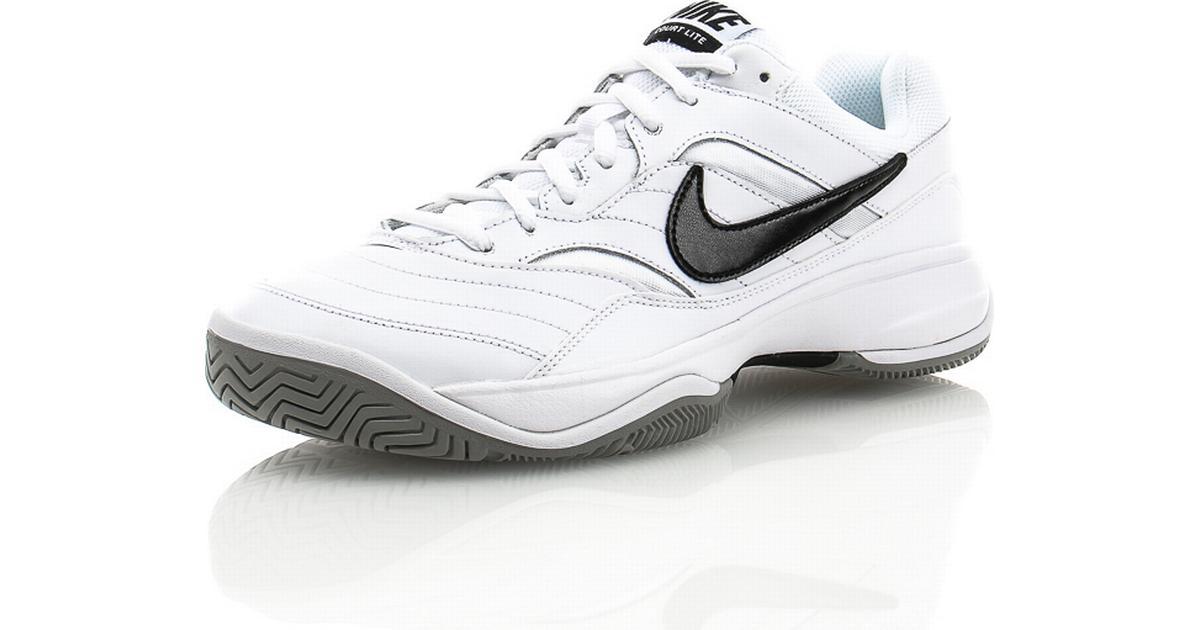 Nike Court Lite White Black - Sammenlign priser hos PriceRunner ec8516a36d