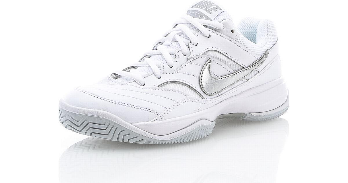 Nike Court Lite White Grey - Sammenlign priser hos PriceRunner c0b2c409d9