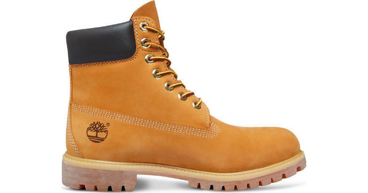 4194beee90f Timberland Icon 6-inch Premium Boot - Yellow/Beige - Sammenlign priser hos  PriceRunner