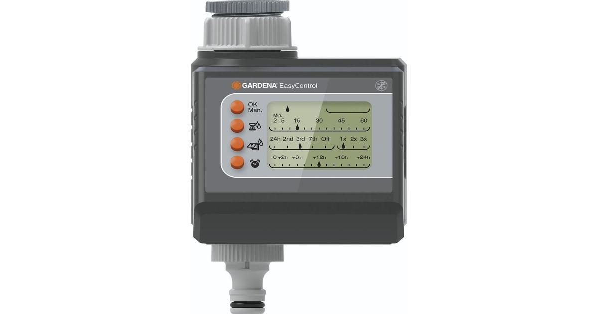 gardena water computer easycontrol hitta b sta pris. Black Bedroom Furniture Sets. Home Design Ideas