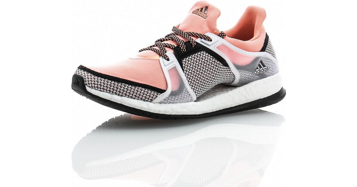 Adidas Pureboost X TR W Core Black Sun Glowhite Sammenlign priser & anmeldelser på PriceRunner Danmark