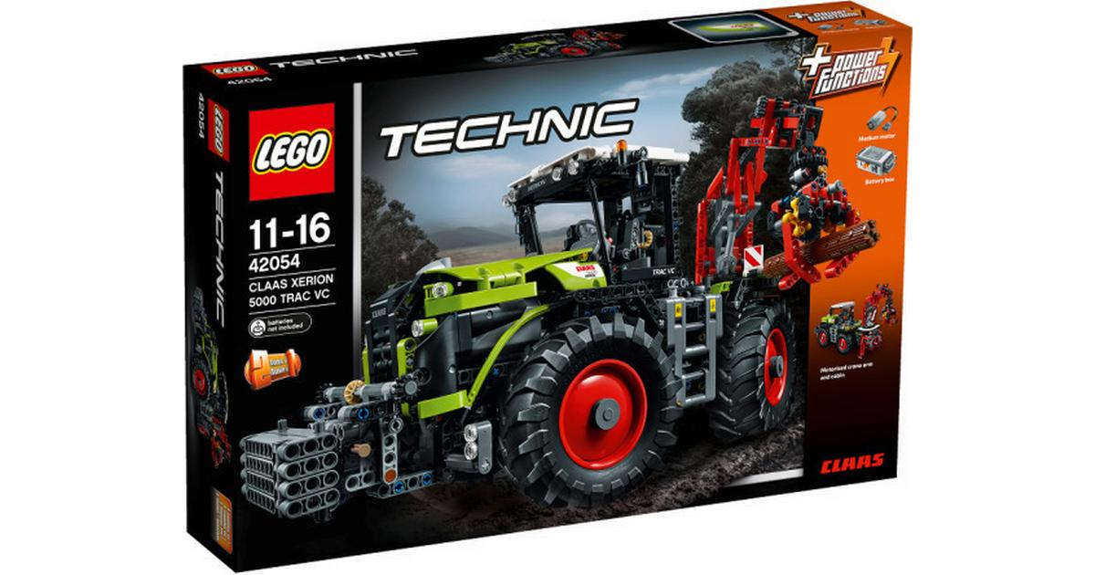 1eb444cce7f Lego Technic Claas Xerion 5000 Trac VC 42054 - Sammenlign priser hos  PriceRunner