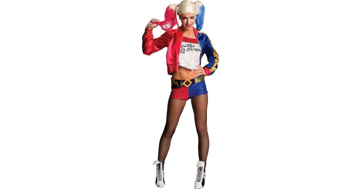 Rubies Harley Quinn Kostym Vuxen - Hitta bästa pris 2bc4c26d8ed2e