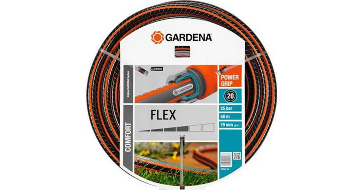 gardena comfort flex hose 19 mm 3 4 50m hitta b sta pris recensioner och produktinfo. Black Bedroom Furniture Sets. Home Design Ideas