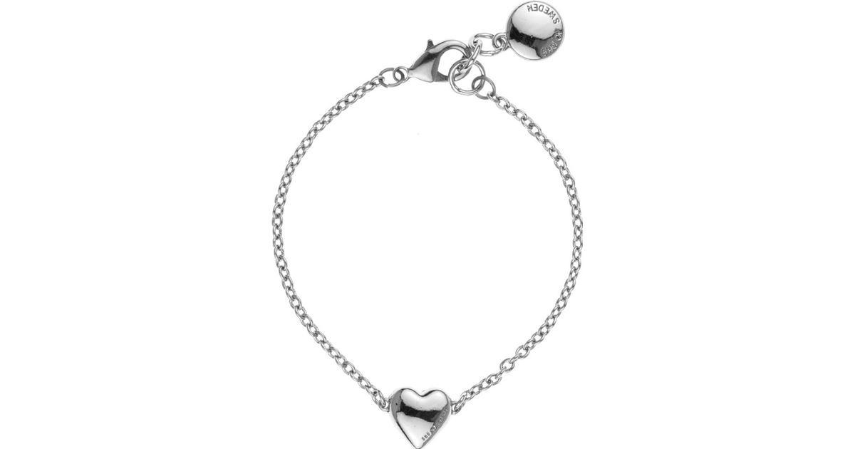 Snö of Sweden Zinc Silver Plated Chain Bracelet (527-3200256) - Hitta bästa  pris f67ed4621bb92