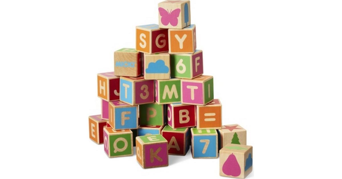 Micki Alphabet Blocks 36pcs - Hitta bästa pris bd179b7ec17d7