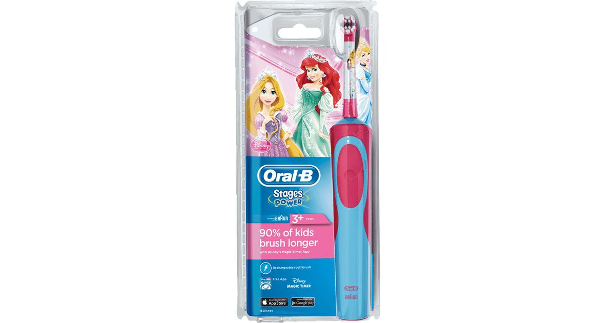Oral-B Stages Power Kids Rechargeable Disney Princesses 3+ - Hitta bästa  pris 8691fd8326312