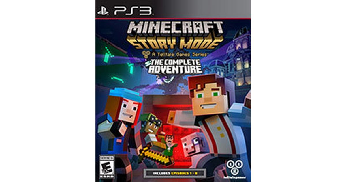 Minecraft  Story Mode - Complete Adventure - Sammenlign priser hos  PriceRunner d2f09e5cf92e6