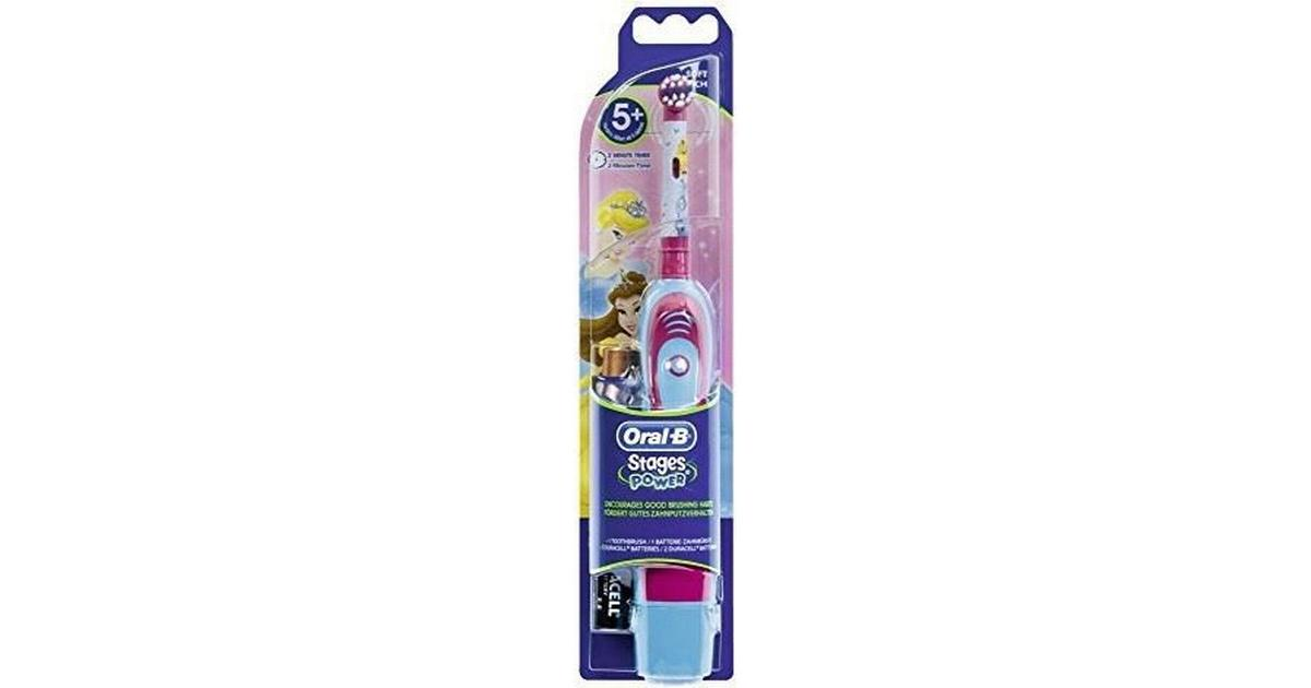 Oral-B Stages Power Kids Battery Disney Princess 5+ - Sammenlign priser hos  PriceRunner 0a026006b7592
