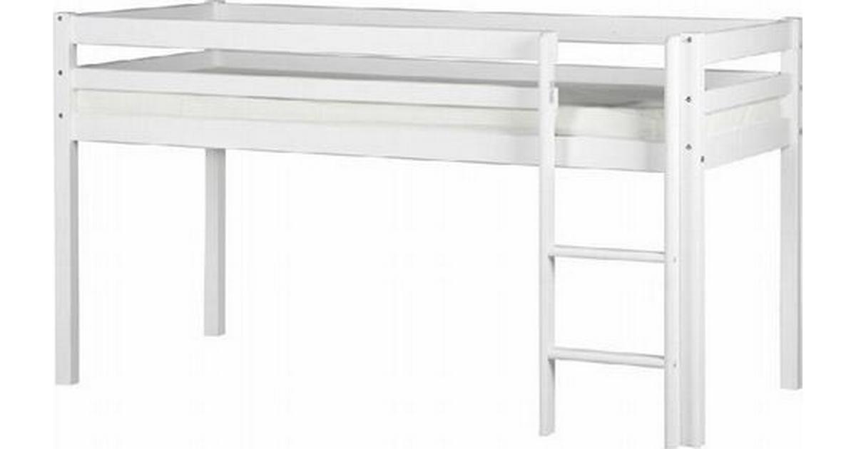 flexa halvhøj seng tilbud