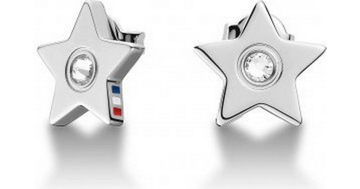 stort urval av 100% hög kvalitet på fötter skott av Tommy Hilfiger Metal Silver Plated Earrings 1.2cm (2700842 ...