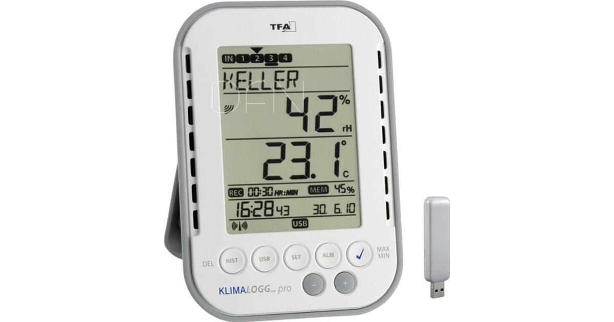 TFA KlimaLogg Pro - Hitta bästa pris f539564dbea22