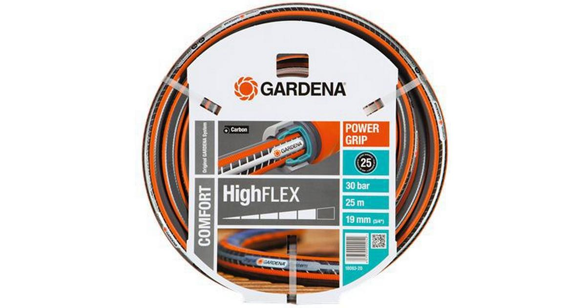 gardena comfort highflex hose 19mm 3 4 25m hitta. Black Bedroom Furniture Sets. Home Design Ideas