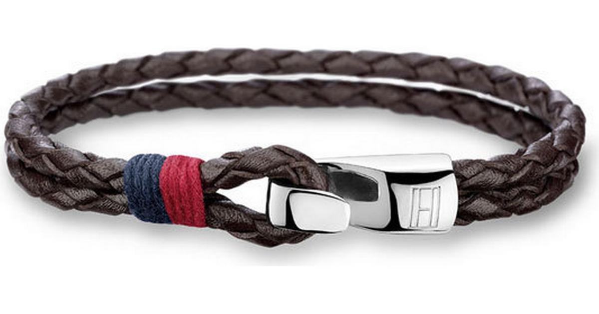 Tommy Hilfiger Double Row Brown Leather Bracelet (2700671) - Hitta bästa  pris 4ddcc79a56f13