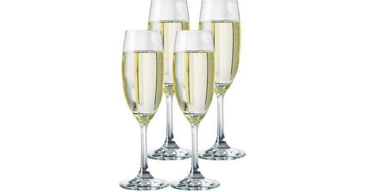 Massivt Aida Atelier Chateau Champagneglas 22 cl 4 stk - Sammenlign priser TZ05