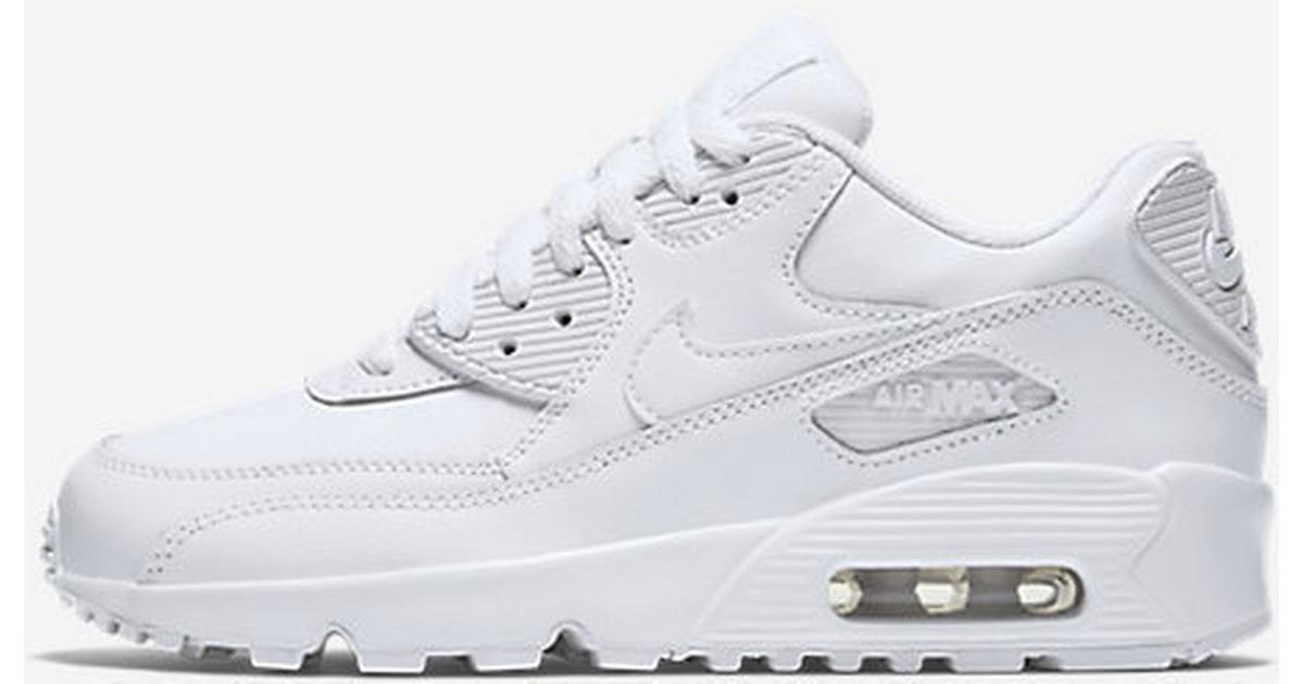 f9eb9e16b6a9 Nike Air Max 90 Leather (833412 100) - Sammenlign priser hos PriceRunner