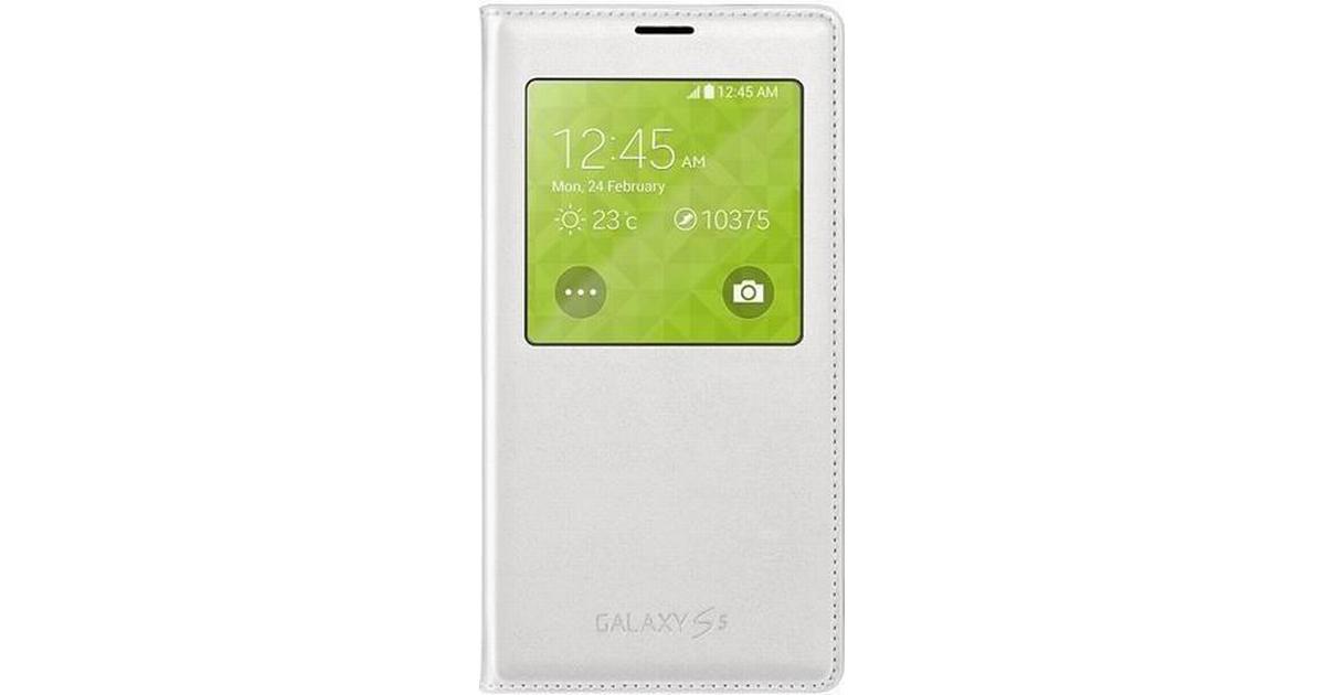 Samsung S View Cover (Galaxy S5) - Hitta bästa pris 75bea9c5e54fa