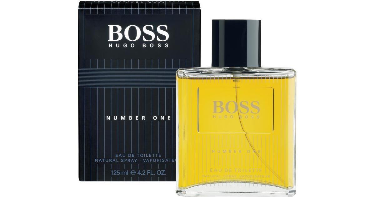 hugo boss boss number one edt 125ml sammenlign priser. Black Bedroom Furniture Sets. Home Design Ideas