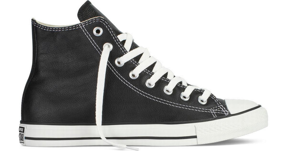 low priced 33fe1 636b4 Converse Chuck Taylor All Star Leather - Black - Hitta bästa pris,  recensioner och produktinfo - PriceRunner
