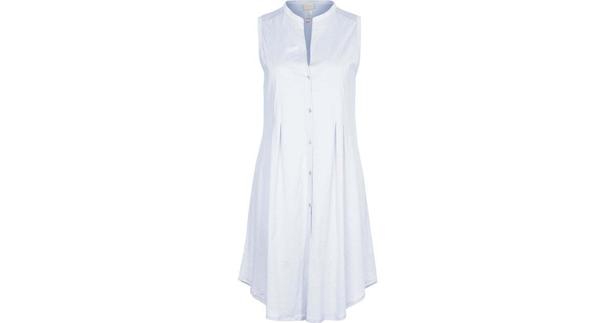 Hanro Cotton Deluxe Nightgown Blue Glow Hitta bästa pris, recensioner och produktinformation på PriceRunner Sverige