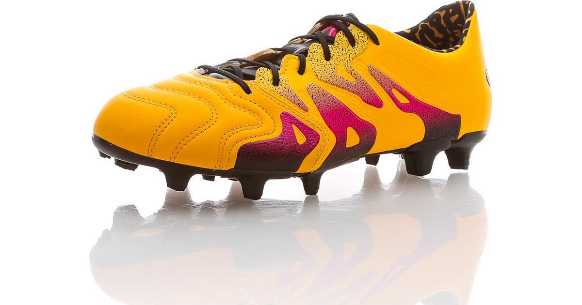 sports shoes a69b0 9efca ... adidas x 15.1 fg ag leather sammenlign priser hos pricerunner