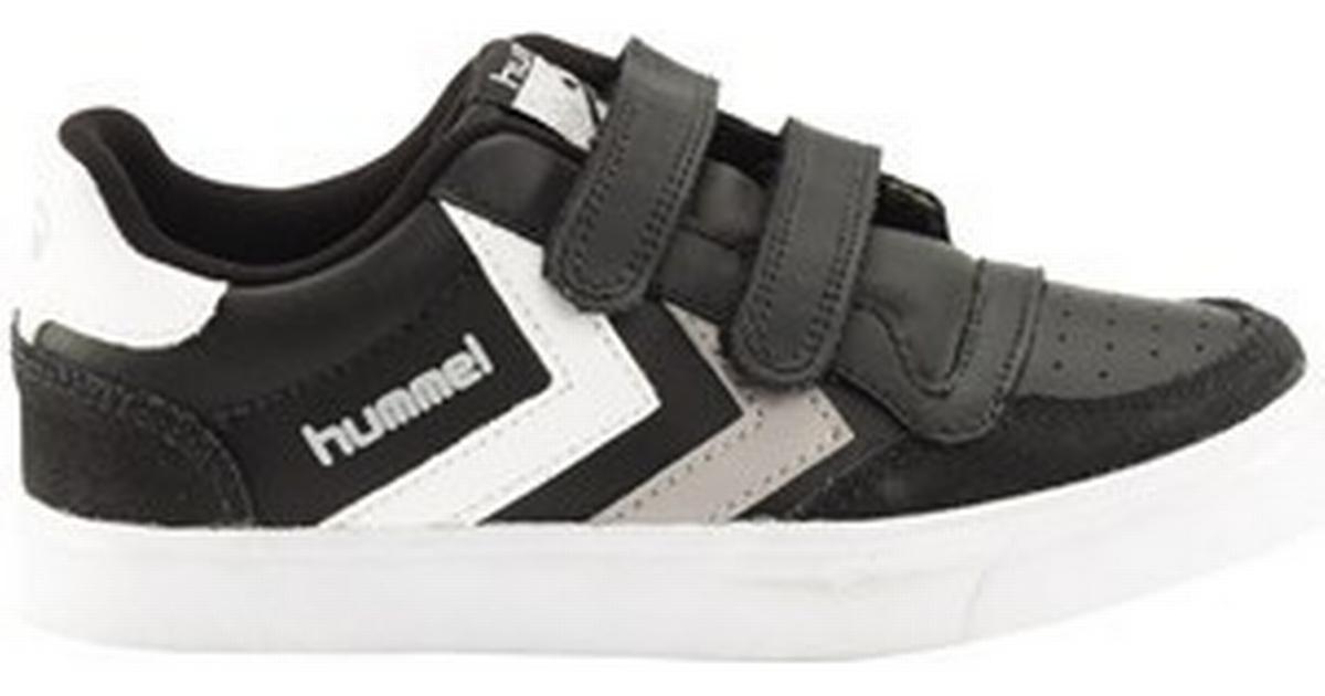 668b2ebfdc8 Hummel Stadil Jr Leather Low Sort/Hvid/Grå (163675-2072) - Sammenlign  priser hos PriceRunner