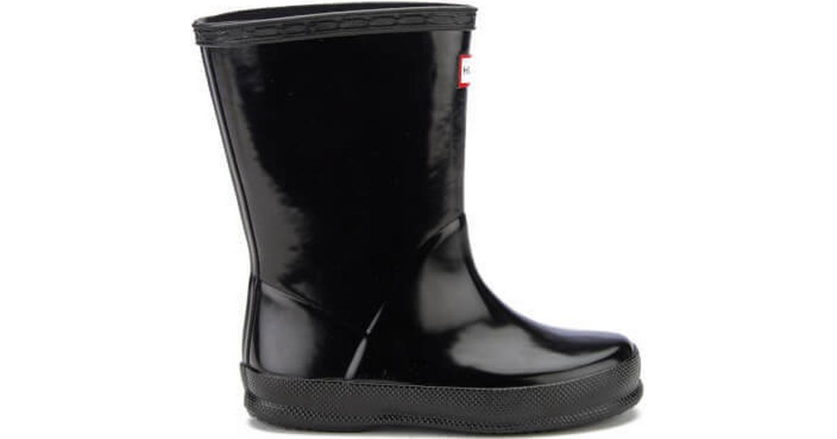 5c35e54a6a9 Hunter First Gloss Wellies Black (KFT5003RGL) - Hitta bästa pris,  recensioner och produktinfo - PriceRunner