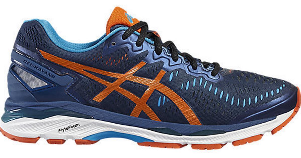 separation shoes 56e48 faf9f Asics Gel- Kayano 23 M - Blue/Orange - Sammenlign priser & anmeldelser på  PriceRunner Danmark
