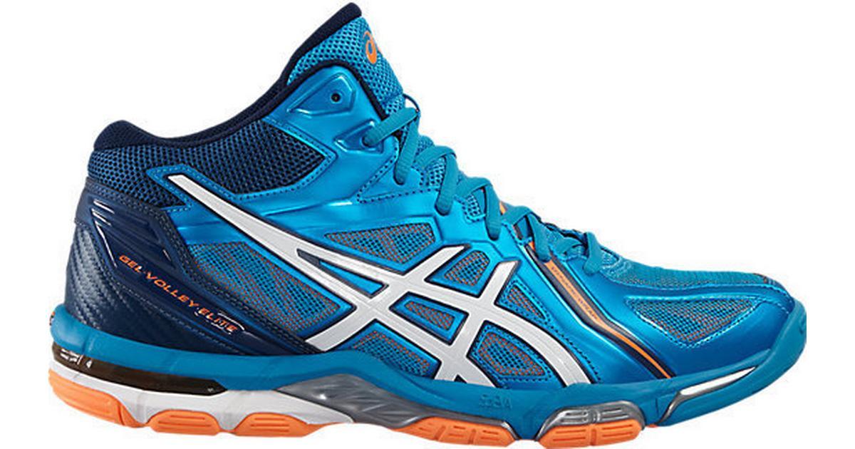 d9ba95c6a1b Asics Gel- Volley Elite 3 Mt M - Blue/Orange/White - Sammenlign priser hos  PriceRunner