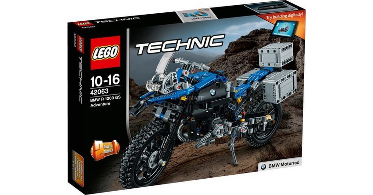Lego Technic Bmw R 1200 Gs Adventure 42063 Compare Prices