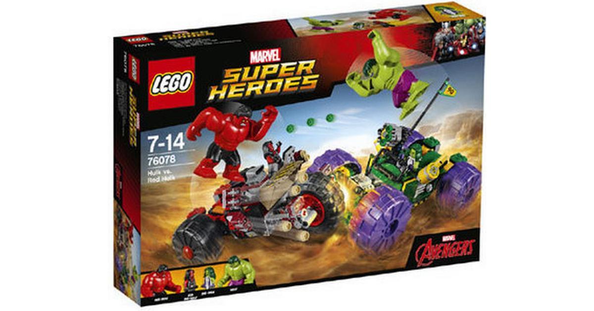 Lego Marvel Superheroes Hulk vs Red Hulk 76078 - Compare Prices ...