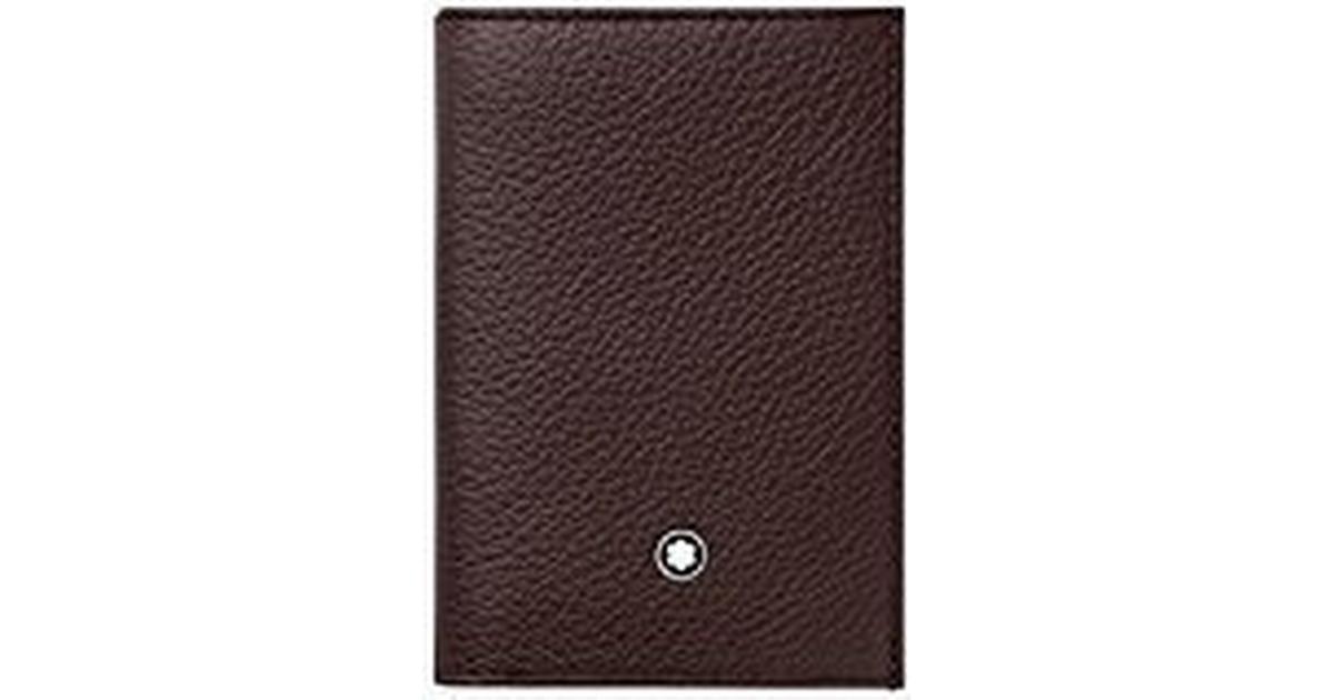 e0892e97fc1 Mont Blanc Meisterstück Soft Grain Business Card Holder - Brown (114474) - Sammenlign  priser hos PriceRunner