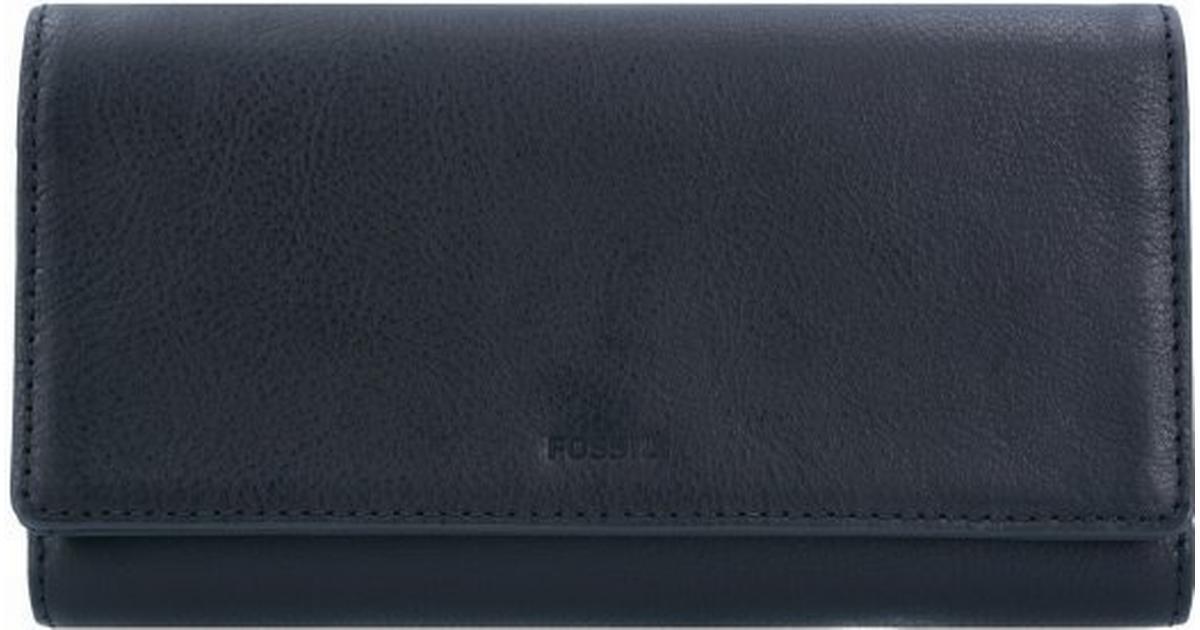 ed63c895648 Fossil Emma RFID Flap Clutch - Black (SL7155P) - Sammenlign priser hos  PriceRunner
